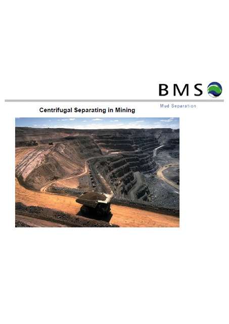 BMS Mining centrifuge cover