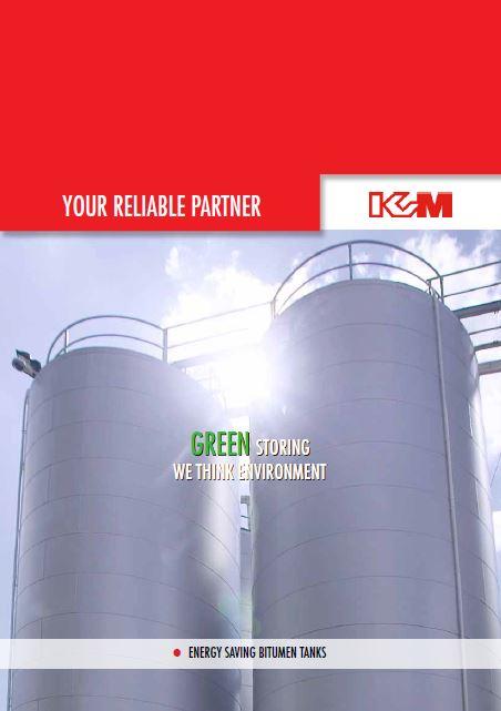 KVM Bitumen cover